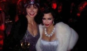 Ким Кардашян похвасталась вечеринкой у Евы Лонгория