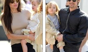 Вся семья Анджелины Джоли и Брэда Питта собралась в Новом Орлеане