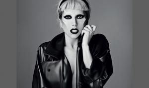 Фотографии Леди Гага в апрельском номере журнала  i-D
