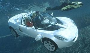 Автомобиль под водой, в воздухе и на море – это реальность