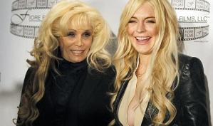 Линдси Лохан приняли за Леди Гага