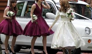 Кира Найтли стала подружкой невесты на свадьбе брата