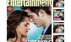 Роберт Паттинсон и Кристен Стюарт на обложке Entertainment Weekly
