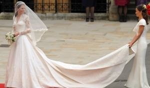 Копия свадебного платья Кейт Миддлтон была сделана за 6 часов