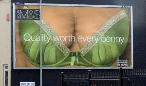 Реклама нижнего белья стала слишком провокационной