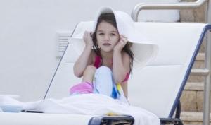 Сури Круз отдыхала с родителями в Майами