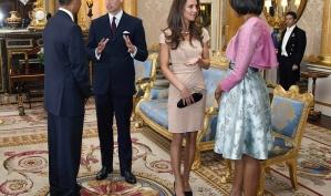 Кейт Миддлтон и Мишель Обама: встреча стильных леди