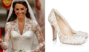 Свадебные туфли 2011