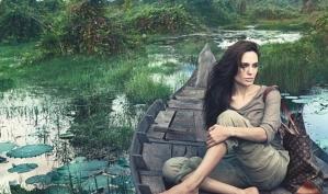 Первая реклама Анджелины Джоли для Louis Vuitton