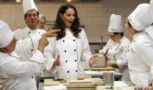 Кейт Миддлтон и принц Уильям познавали секреты французской кухни