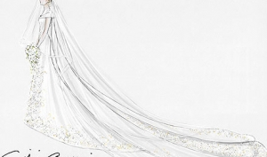 Подробности свадебного платья княгини Монако