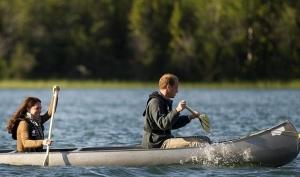 Кейт Миддлтон в Канаде показала хорошую спортивную форму