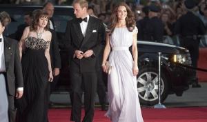 Звёзды Голливуда пришли на встречу с королевской четой