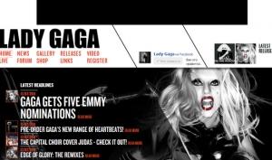 Сайт Леди Гага взломали американские хакеры