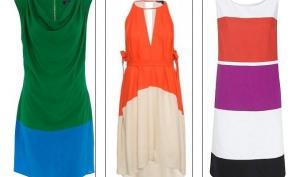 Яркая палитра лета – модный тренд Color block