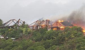 Кейт Уинслет едва не сгорела в роскошном поместье