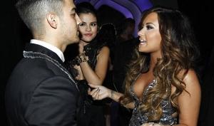Деми Ловато и Джо Джонас встретились на MTV Music Awards