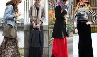 Самые удобные повседневные образы с юбками