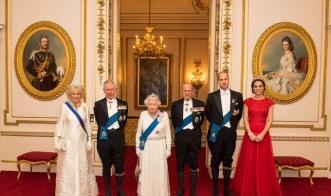 Кейт Миддлтон снова надела любимую тиару принцессы Дианы для дипломатического приема