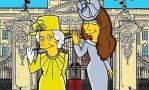 Кейт Миддлтон получила образ персонажа Симпсонов