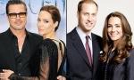 Кейт Миддлтон и принц Уильям встретились с Анджелиной Джоли и Брэдом Питтом