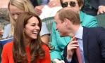 Принц Уильям и Кейт Миддлтон пришли на теннисный матч