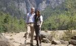 Принц Уильям и Кейт Миддлтон посетили монастырь в горах