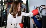 Кейт Миддлтон надела боксерские перчатки