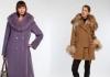 Модные пальто зимы 2013
