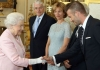 Дэвид Бекхэм встретился с королевой Великобритании