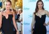 Алисия Викандер и Дженнифер Гарнер в платье Victoria Beckham