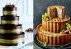 Трендовые свадебные торты 2016