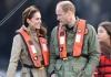 Принц Уильям и Кейт Миддлтон на канадских островах Хайда-Гуаи