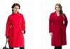 Красное пальто: как подобрать подходящий оттенок и с чем носить?