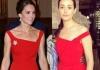 Кейт Миддлтон и Эмми Россум в платье Preen