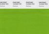 Зелёный - главный цвет 2017 по версии Института цвета Pantone