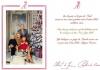 Рождественская открытка князя Монако и его семьи